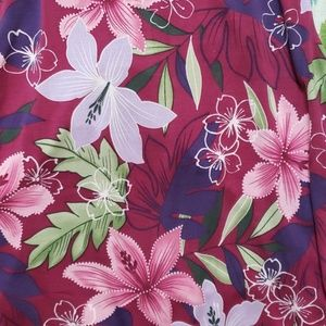 Tommy Bahama Tops - TOMMY BAHAMA  floral pattern tank blouse  size med